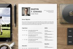 Premium Resume CV Template Set - Resumes - 1