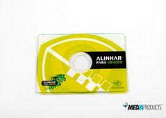 CD-CARD produzido para o grupo AMORIM.