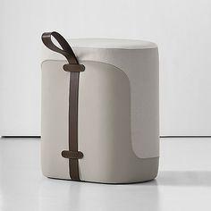 Tour upholstered stool by Bernhardt design Design Furniture, Ikea Furniture, Furniture Styles, Furniture Decor, Modern Furniture, Kitchen Furniture, Furniture Cleaning, Furniture Handles, Furniture Buyers