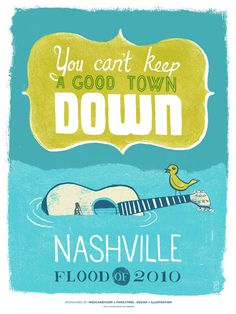 nashville flood poster