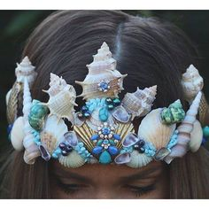 Beautiful Mermaid Crown More