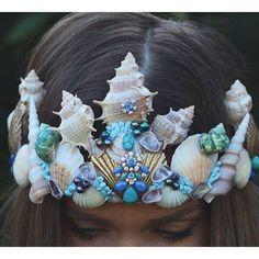 Beautiful Mermaid Crown                                                                                                                                                     More