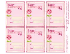 Valentine's Mothers Day Kid Cards. Valentines Day Card For KidsFree Download