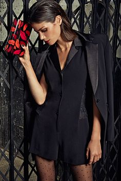 Own the night in #DVF. #SaksStyle