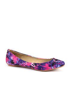 Teens Tie Dye Ballet Pumps £12.99
