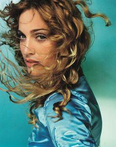 Madonna pour l'album Ray Of Light, Miami, 1998