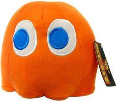 "Pac-Man 6"" Plush Video Edition: Orange - http://coolgadgetsmarket.com/pac-man-6-plush-video-edition-orange/"
