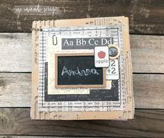 Conjunto para las fotos escolares de Andrea