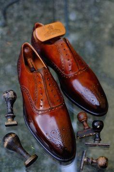 Dandy Shoe Care - Hi End of Elegance.  Patina by Dandy Shoe Care.