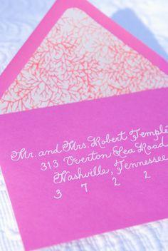 Wedding Calligraphy Envelope Addressing Custom