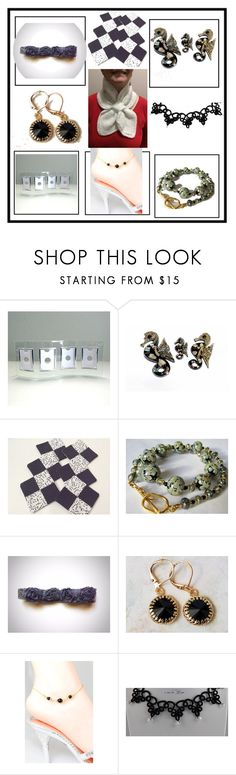 """""""Ideas for a gift."""" by lwitsa62 ❤ liked on Polyvore featuring beauty, memento, Hostess and vintage"""