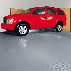 G-Floor Parking Pad Garage Floor Cover/Protector, 9' x 20', Ribbed, Slate Grey - Walmart.com