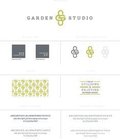 garden studio landscape design logo/identity/branding