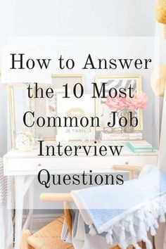 infographic How to Answer the 10 Most Common Job Interview Questions. Image Description How to Answer the 10 Most Common Job Interview Questions Common Job Interview Questions, Interview Skills, Job Interview Tips, Interview Preparation, Job Interviews, Interview Techniques, Interview Clothes, Makeup For Job Interview, Hairstyles For Job Interview
