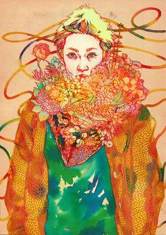 Natsuki Otani   Colour and Complexity inspiration