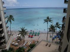 Outrigger Waikiki On the Beach | Outrigger Waikiki on the Beach Photo: View from Room 719 balcony