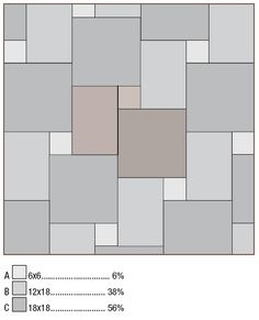 Tile Patterns for squares, oblongs and square/oblongs Paving Design, Hardscape Design, Facade Design, Floor Design, Tile Design, Porch Flooring, Stone Flooring, Floor Patterns, Tile Patterns