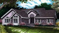 The Cheshire House Plan - 1786 1568 sqft Contemporary House Plans, Contemporary Style Homes, Contemporary Bedroom, Contemporary Design, Cottage House Plans, Cottage Homes, The Cheshire, Best House Plans, Screened In Porch