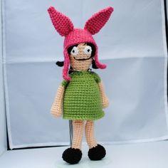 Martian Creations Handmade Crochet Louise Belcher