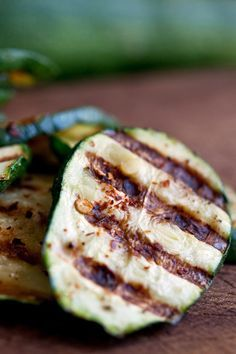 Spicy Grilled Zucchini