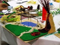 Irresistible Ideas for play based learning » Blog Archive » miniature playscapes en masse