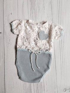 cod 1 Newborn Romper Prop Lace Girl by 4LittlePrincessProps