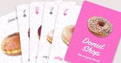 Donut Shop playing cards PRE-order poker face cards