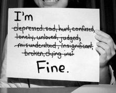 Depression - I'm Fine.
