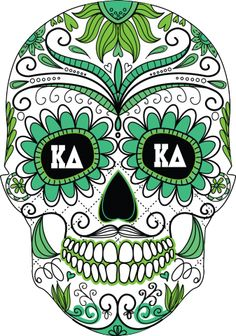 kappa delta skull