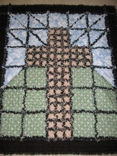 Beautiful and I am making one of these.   No Pattern, but you can use your imagination and make a pattern.