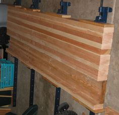 Workbench top using 2X4's or 2X3's