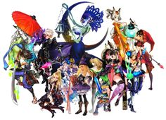 for all fans of Vanillaware games and characters Character Concept, Concept Art, Character Design, Odin Sphere, Owl Moon, Fox Spirit, Dragons Crown, 3d Artist, Monster Girl