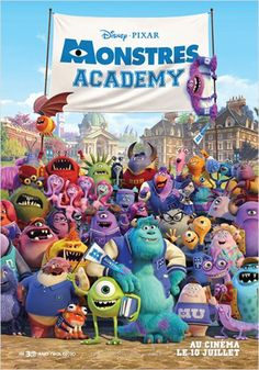 Monstres Academy : affiche