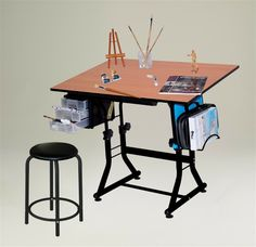 Top Peachy IKEA Kids Drawing Table Inspirations : Charming Black Frame IKEA Kids Drawing Table Inspiration with Black Chair and Three Drawer...