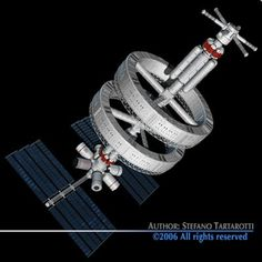 Space station Sci-Fi  3D Models