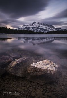Placid Morning - Two Jack Lake, Banff National Park, Alberta, Canada - Paul Zizka O Canada, Alberta Canada, Banff Alberta, Making Waves, Canadian Rockies, Banff National Park, Natural Wonders, Dream Vacations, Waterfall