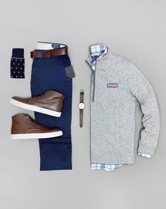 Likes, 37 Comments - Alex Lau Mens Casual Dress Outfits, Stylish Mens Outfits, Men Dress, Cool Outfits, Fashion Outfits, Chinos Men Outfit, Mode Man, Preppy Men, Mein Style