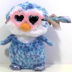 Ik laat je in het filmpje zien hoe ik een leuke hartjes bril maak met mijn 3D pen voor mijn TY Beanie Boos knuffel.