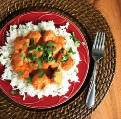 Slow Cooker Chicken Tikka Masala - this tastes just like the tikka we get at a local Indian restaurant. Our family loves this and I love how easy it is!