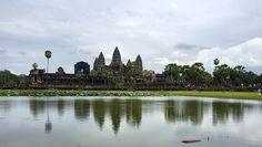 Silencio y paz entre piedras, Angkor, leyendas en Camboya