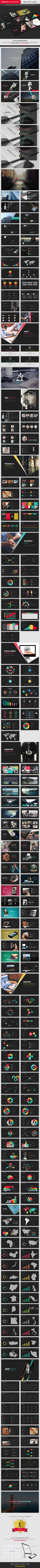 Buy Creative PowerPoint Template by pptx on GraphicRiver. Creative Presentation Creative Design PowerPoint Template – It offers unique and relevant slide templates that are ca. Creative Powerpoint Templates, Powerpoint Presentation Templates, Brochure Design, Branding Design, Cv Web, Bussiness Card, Presentation Layout, Slide Design, Grafik Design