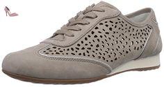 Shoes, Damen Derby Schnürhalbschuhe, Beige (13 Puder/Nude), 40 EU Gabor