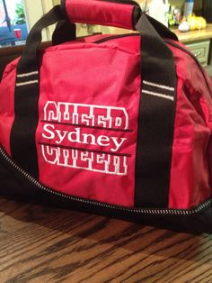 Cheer duffel OGIO Half Dome Duffle that can be monogrammed slightly smaller  version duffle c1605713aca9b