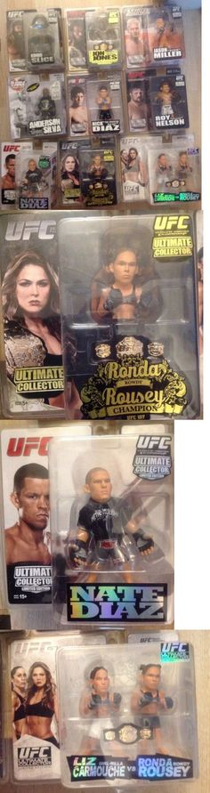 Mixed Martial Arts MMA 177913: Round 5 Lot Ufc Mma Pride Kimbo Diaz Ronda Rousey Limited Ed Action Figures -> BUY IT NOW ONLY: $249 on eBay!