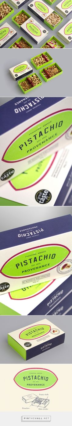 Keep clean & tidy with this Pistachio packaging designed by Kingdom & Sparrow (UK) - http://www.packagingoftheworld.com/2016/02/pistachio-provenance.html