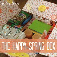 A Springtime Care Package - Jo, My Gosh!