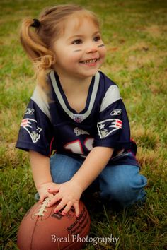 #patriots  too cute, my little girl gonna be a patriots fan.. lol or maybe jaguars?? haha