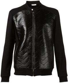 03d12570718 Versace coated panel jacket on shopstyle.com Versace Coat