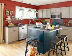 http://www.lowescreativeideas.com/idea-library/projects/1_Kitchen_Island_3_Ways_Option_1_1011.aspx  Kitchen island and barstools
