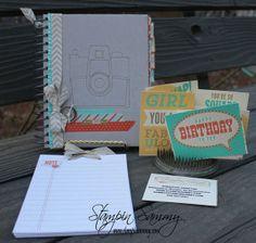 Stampin Sammy | Retro Fresh This and That Journal Day Planner | http://stampinsammy.com